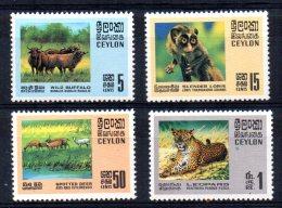 Ceylon - 1970 - Wildlife Conservation - MNH - Sri Lanka (Ceylan) (1948-...)