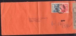 España 1942. Carta De Barcelona A Berna. Censura. - Marcas De Censura Nacional