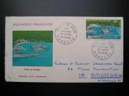 Port De PAPEETE  1966 - Polynésie Française