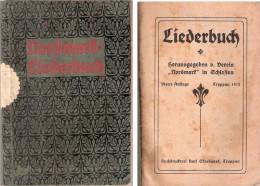 NORDMART LIEBERBUCH Canzoniere In Lingua Tedesca - Troppau 1912 - Libri Vecchi E Da Collezione