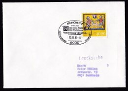 Germany: Cover, 1980, Charity Stamp, Special Cancel Congress Psychotherapy Of Schizophrenia, Medicine (traces Of Use) - [7] West-Duitsland