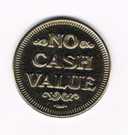 °°° TOKEN  NO CASH VALUE  EAGLE - USA