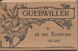 CPA - GUEBWILLER - CARNET DE 20 VUES - Rues Et Batiments De La Ville - Edition La Cigogne - Guebwiller