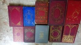 LOT 10 Livres Anciens HISTOIRE DECOUVERTE SINAÏ CHINE SPITZBERG NAUFRAGES JACOB FIDELE ETATS UNIS MESSIEURS MIRABELL - Lots De Plusieurs Livres