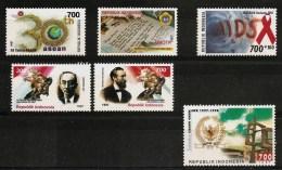 INDONESIA 1997 - Various Stamps 6v MNH ** Cv€2,90 I707b - Indonésie