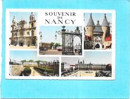DEPT 54 - Souvenir De NANCY - MULTI-VUES -  5 Vues De La Ville - SM - - Nancy