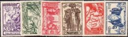 Détail De La Série Exposition Internationale De Paris * Mauritanie N° 66 à 71 - 1937 Exposition Internationale De Paris