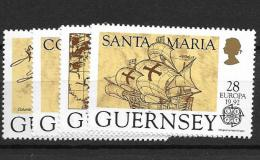 1992 MNH Cept Guernsey - Europa-CEPT