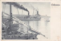 Croatia Crikvenica SS.Knin U Luci , Jadranska Plovidba Sušak - Kroatien