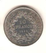 PIECE ARGENT 10 FRANCS 1965 - K. 10 Francs