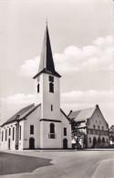 Ak Oppau, Ludwigshafen, Auferstehungskirche Mit Rathaus - Ludwigshafen