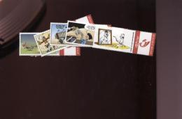 Belgie Duostamps Strips Comics BD Gotlib Asterix MNH - België