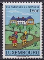 4877. Luxembourg 1967 Hostels In Luxembourg, MNH (**) Michel 753 - Luxembourg