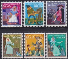 4881. Luxembourg 1966 Charity - Caritas, MNH (**) Michel 740-745 - Luxembourg