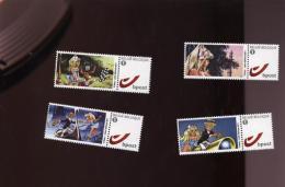 Belgie Duostamps Strips Comics BD Dany / 4 Stamps /   MNH - België