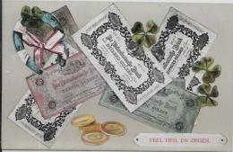 CPA Billet De Banque Numismatique Non Circulé Carte Ancienne Monnaie - Monnaies (représentations)
