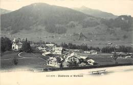 Suisse -ref C624- Diablerets Et Meilleret   - Carte Bon Etat  - - Suisse