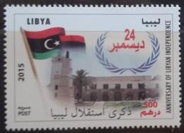 Libya 2015 NEW MNH Stamp - Anniv Of Libyan Independence - Flag - Libya
