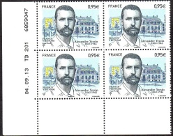 France Coin Daté N° 4799 ** Alexandre Yersin Emission Commune France-Vietnam Du 04.09.2013 - Angoli Datati