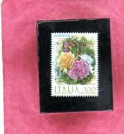 ITALIA REPUBBLICA ITALY REPUBLIC 1982 FLORA FIORI FLOWERS FIORE GAROFANO FLOWER USATA USED OBLITERE´ - 1981-90: Oblitérés