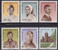 4885. Luxembourg 1967 Charity - Caritas, MNH (**) Michel 759-764 - Luxembourg