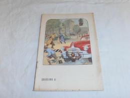 Quaderno - I Pericoli Della Strada - Anni 1950-60 - Pubblicitari