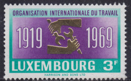 4887. Luxembourg 1969, 50th Anniversary Of ILO, MNH (**) Michel 792 - Luxembourg
