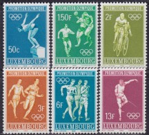 4888. Luxembourg 1968 Olympic Games In Mexico, MNH (**) Michel 765-770 - Luxembourg