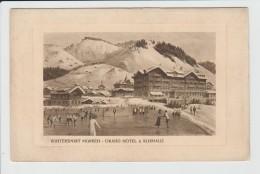 MURREN - SUISSE - WINTERSPORT - GRAND HOTEL ET KURHAUS - BE Berne