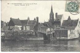 Valenciennes Le Faubourg De Paris Vue Sur L'escaut - Valenciennes