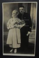 Russie Pologne GRODNO Photographe DOMINIK ANCZYK 1937 Officer Mariage (1188) - Personas Identificadas