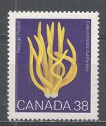 Canada 1989. Scott #1245 (MNH) Champignons, Mushrooms, Clavulinopsis Fusiformis - Ungebraucht