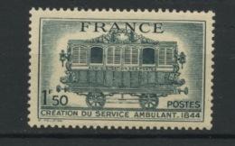 FRANCE - SERVICE POSTAL AMBULANT - N° Yvert 609** - France