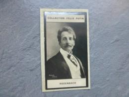 RODENBACH, Homme De Lettres, Photo NADAR,1ère Collection Félix POTIN 1898 ; Ref  PH23 - Photos