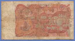 DIX DINARS 1970? Banknote Aus Algerien In Stark Gebrauchten Zustand - Algerien