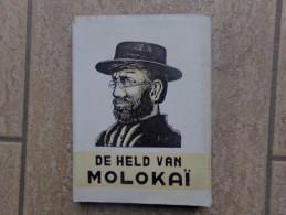 De Held Van Molokai, Pater Damiaan De Veuster  Door P. Renaat,  317 Blz., 1947 - Livres, BD, Revues