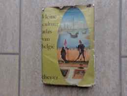 Kleine Cultuuratlas Van België Door Paule Daems-Van Ussel En Ghislaine Derveaux-Van Ussel,  287 Blz., 1964 - Livres, BD, Revues
