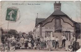 CPA-DP 41-170901-DANZE-ROUTE DE VENDOME-ANIMER-DANS L'ETAT-CARTE RECOLLEE- - Autres Communes