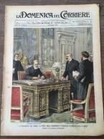 REVUE DOMENICA DEL CORRIERE ANNO 6 N° 2 10/1/1904 PIAZZALE VENEZIA MERCATO ROMA PIAZZA DEL ROTONDA CATRAMINA BERTELLI - Livres, BD, Revues