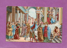 Presentation Of The Virgin In The Temple - Girlandaio - Firenze - S. Maria Novella - Peintures & Tableaux