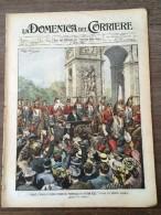 REVUE DOMENICA DEL CORRIERE ANNO 5 N° 43 25/10/1903 CHAMPS ELYSEES BAL POPULAIRE - Livres, BD, Revues