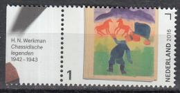 Nederland - Jaar Van Het Boek - H.N. Werkman - Chassidische Legenden - MNH - NVPH 3452 - Schrijvers