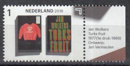 Nederland - Jaar Van Het Boek - Jan Wolkers - Turks Fruit - MNH - NVPH 3453 - Schrijvers