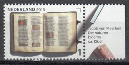 Nederland - Jaar Van Het Boek - Jacob Van Maerlant - Der Naturen Bloemen - MNH - NVPH 3461 - Schrijvers