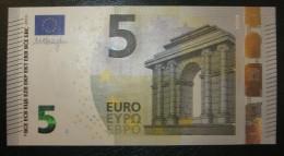 5 EURO DRAGHI SPAIN  V007G5 SERIE VB Perfect UNC - EURO