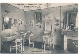 POITIERS - Madame René GAUVIN, Salon De Coiffure, Postiches D'Art - Poitiers