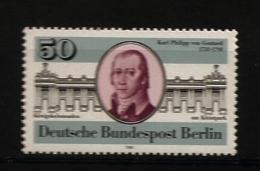 Allemagne Berlin 1981 N° 600 ** Karl Philipp Von Gontard, Architecte, Frédéric II, Colonnades, Rococo, Blondel, Potsdam - [5] Berlin