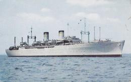 US Naval Ship  GENERAL SIMON B. BUCKNER T-AP 103 - Guerre