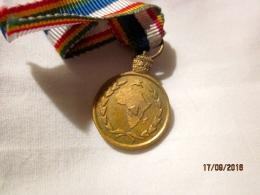 Ethiopia: Mini-médaille Militaire Du Contingent Au Congo 1961 (Ethiopian Blue Helmets In Congo 1961) - Militaria