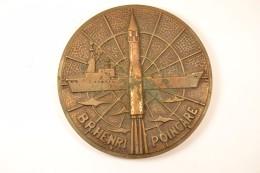 Tape De Bouche Marine Nationale B.R. HENRI POINCARE, Bronze Paris Pour Arthus Bertrand - Boten